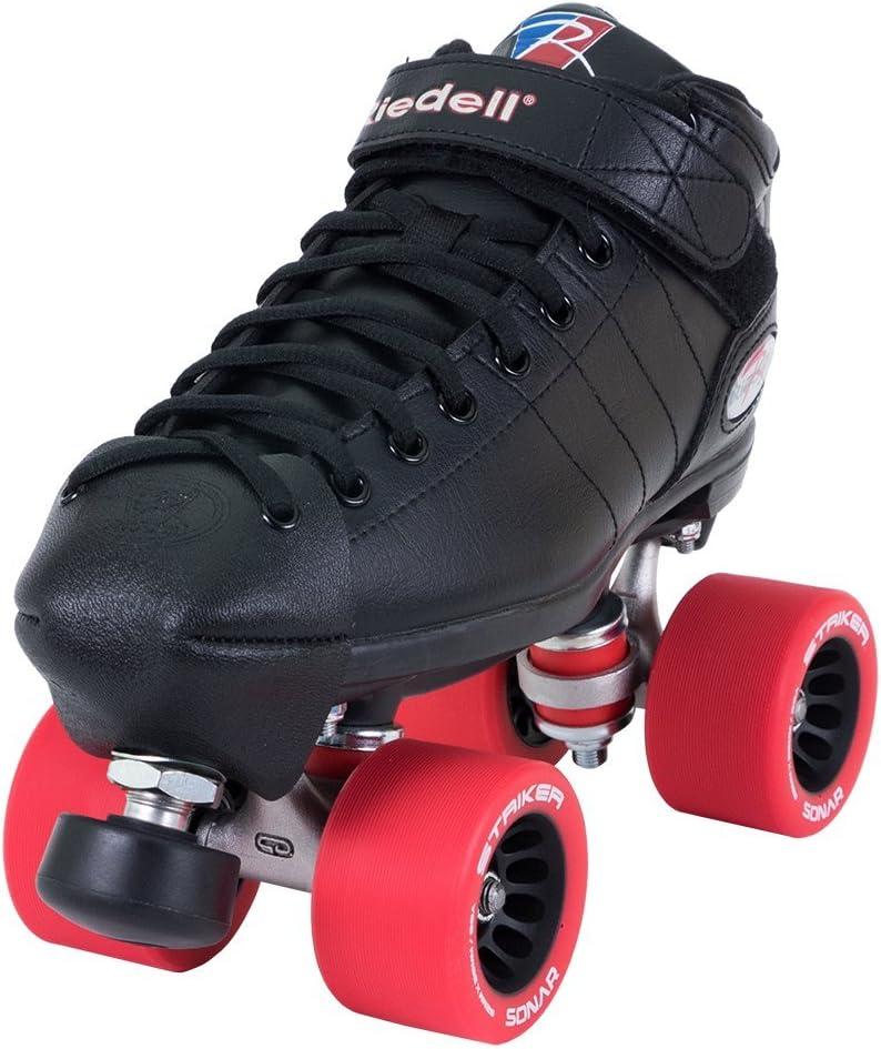 Riedell Skates - R3 Derby - Roller Derby Quad Skate  Size 3