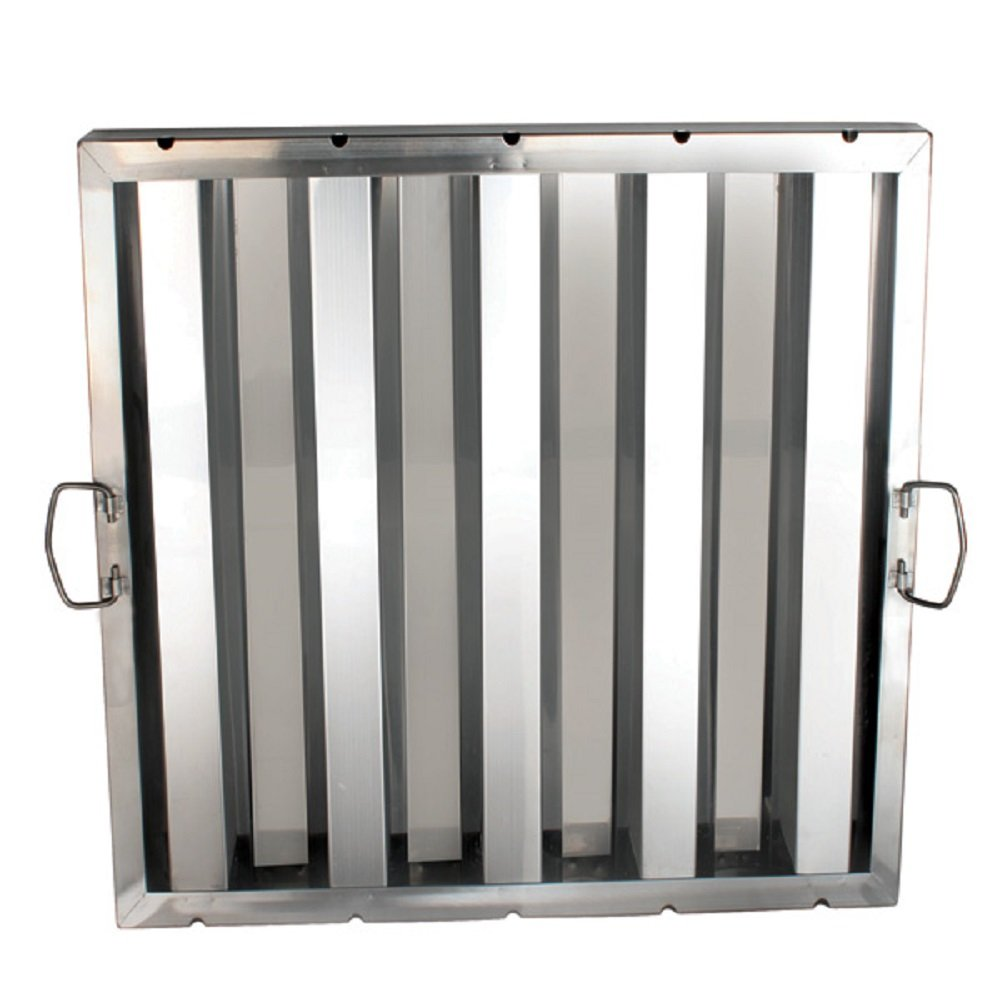 FILTER STAINLESS STEEL HOOD GREASE FILTERS DIFFERENT SIZES RESTAURANT (20'' X 20'')