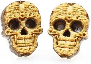 product image for Sugar Skull Stud Earrings
