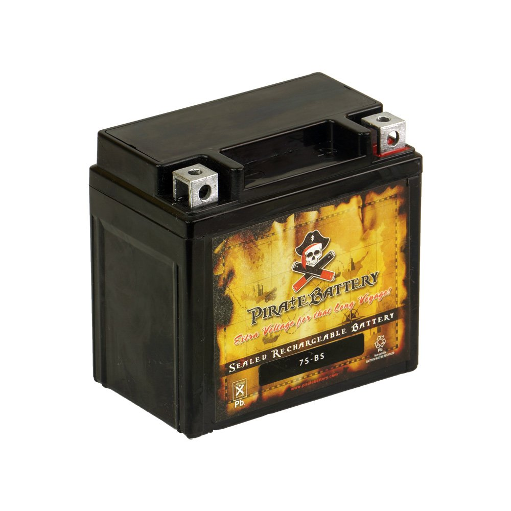 Rechargeable YTZ7S High Performance Power Sports Battery - Replaces Yamaha 250 YFM25R Raptor, R 2008-2012