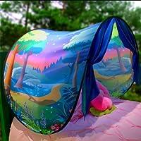 BanboYohi Tentes de rêve Magical World Fantasy Tentes Dream House Pop Up Tente de lit Cadeau pour Enfants(avec lumières LED)