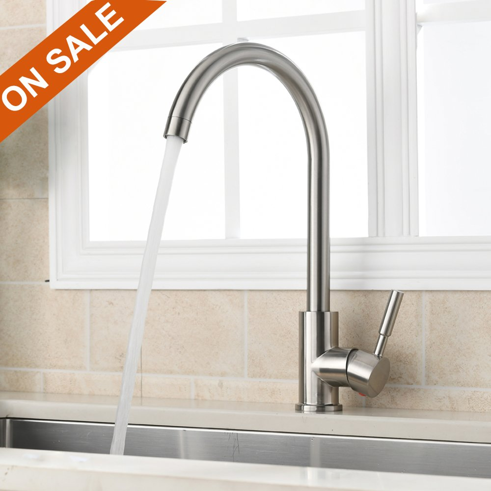 Kitchen Sink Faucets | Amazon.com | Kitchen & Bath Fixtures ...