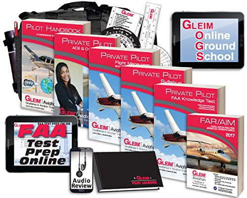 Gleim Deluxe Private Pilot Kit W/ Audio Review