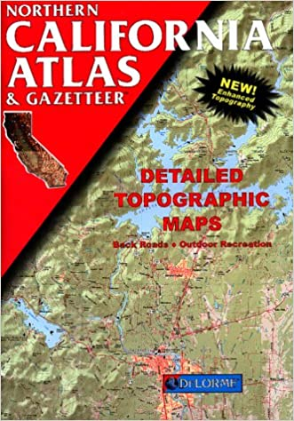 Northern California Atlas  Gazetteer Detailed Topographic Maps