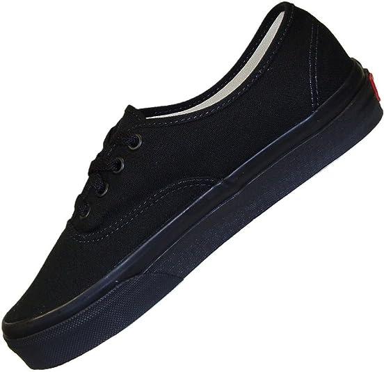 Vans Basket Authentic Off The Wall Noir Monochrome Black Black