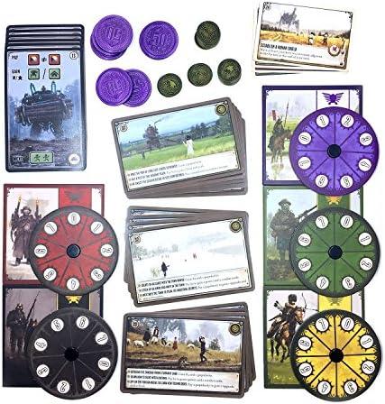 Scythe Board Game - Promo Bundle - Coins - Dials - Encounter Factory Objective Cards - English: Amazon.es: Juguetes y juegos