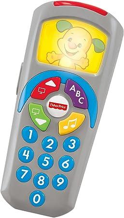 Mattel DLD36 Juguetes Bebe 6 Meses Fisher-Price Mando a Distancia de Perrito portugu/és