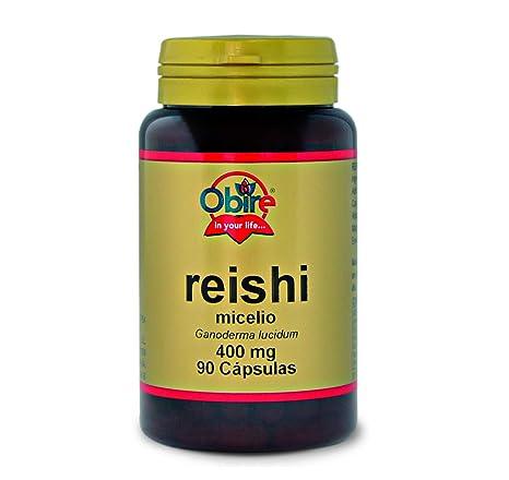 Reishi 90 cápsulas de 400 mg de Obire