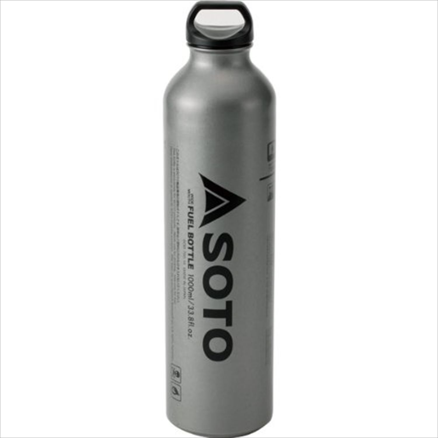 SOTO SOD-700-10 Fuel Bottle for Muka Stove 1 Litre Silver