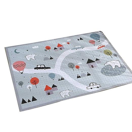 Alfombra de algodón simple - alfombra de juego para gatear ...