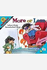 More or Less (MathStart 2) Paperback