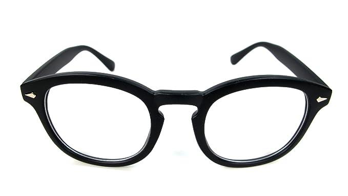 a58580025c5f Johnny Depp Style Men s Glasses Sunglasses Black or Tortoise (Black)
