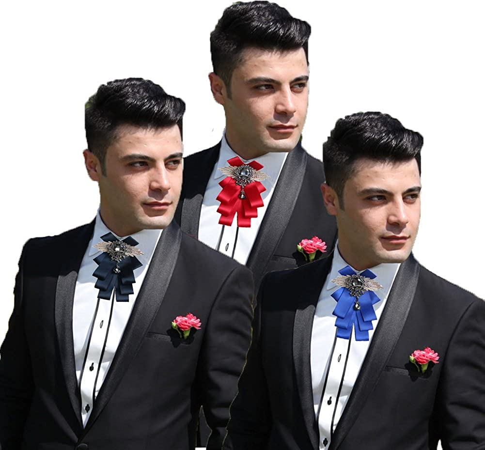 1pc Western Special Wood Gentleman Bow Ties Handmade Wedding Party Bow T AoBLUS