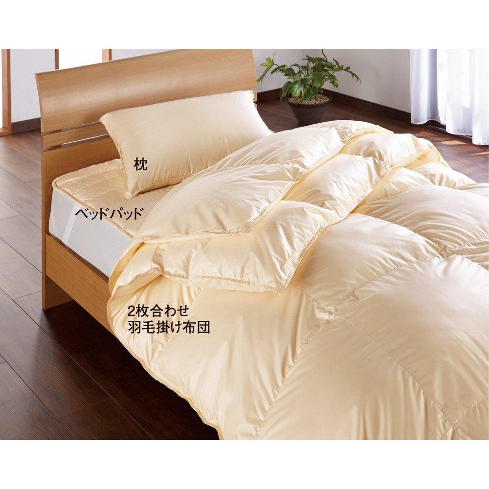 シングル (ウォッシュニングハウス ベッドパッド) 653773(サイズはありません イ:ライトオレンジ) B07MNS7DK8 イ:ライトオレンジ