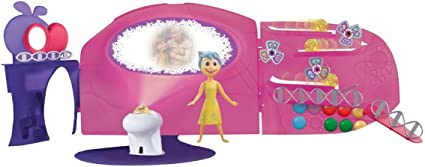 Amazon Com Inside Out Headquarters Playset Toys Games