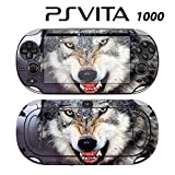 Decorative Video Game Skin Decal Cover Sticker for Sony PlayStation PS Vita (PCH-1000) - Wolf