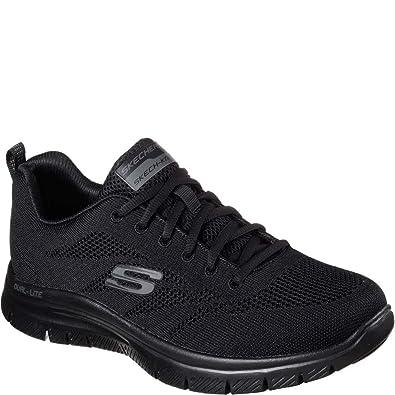e04efa429cd9 Skechers Flex Advantage Fator Mens Sneakers Black 10 W