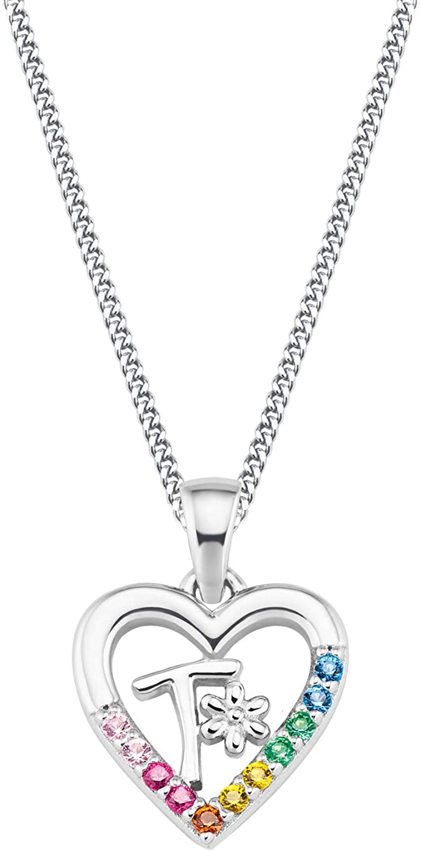 Prinzessin Lillifee Silber Kinder-Halskette Herz V 2027895