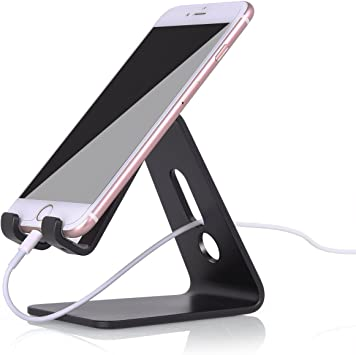 ivoler Soporte móvil Mesa teléfono, Apoya Aluminio Tablet Stand ...