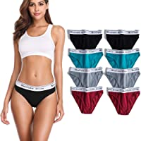 moonlight elves 3-Pack Seamless Underwear Women Sexy Lace Panties- Briefs Freestyle