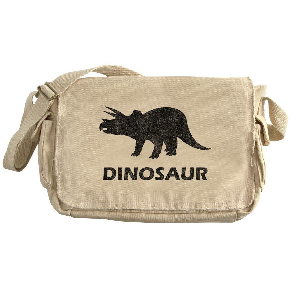 CafePress - Vintage Dinosaur - Unique Messenger Bag, Canvas Courier Bag