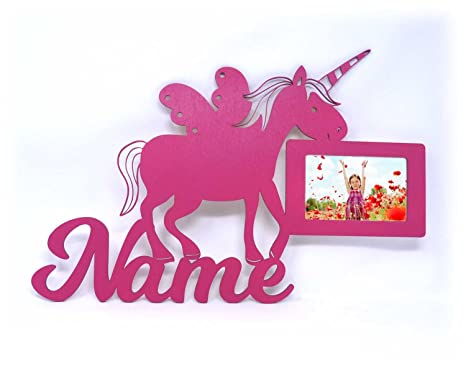 Pared Fotos unicornios cosas diseño figuras con nombre para ...