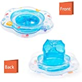 SPECOOL Baby Swimming Ring, Inflatable Swimming Seat Aid Toddler Safety Aid Float Seat Ring for 3 Months-3 Years Children(Blue)