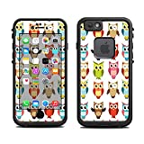Skin for Lifeproof 6 Case (skins/decals only) - Owl Scrapbook design print, who, hoo