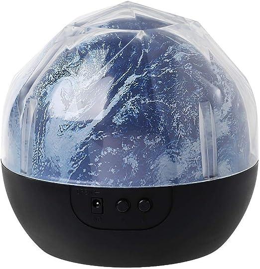 Simshew Luz de Techo LED Regulable 1 Juego Magic Earth Rotating ...