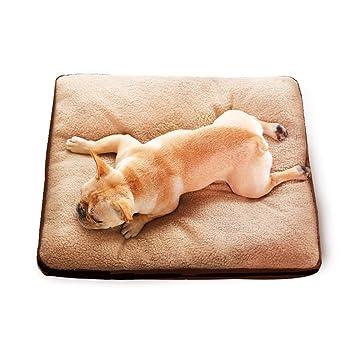 A&N Cama para Mascotas Cama De Perro Amortiguar Cuatro Estaciones Suave Calentar Desmontable Lavable Prueba del
