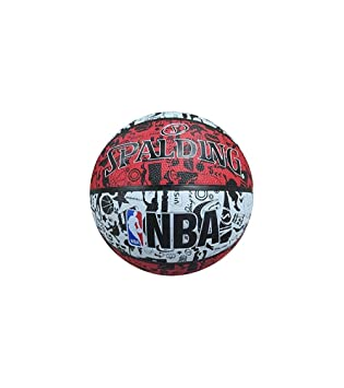 Balón Baloncesto Spalding NBA Graffiti Outdoor Talla - 7: Amazon ...