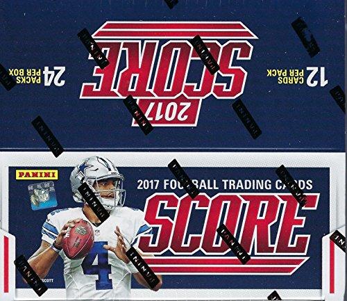 2017 Score NFL Football Unopened Retail Box of 24 Packs w...
