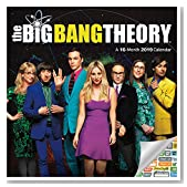 The Big Bang Theory Calendar 2019 Set - Deluxe 2019 The Big Bang Theory Wall Calendar with Over 100 Calendar Stickers (The Big Bang Theory Gifts, Office Supplies)
