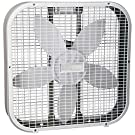 "Holmes HBF2010AWM 20"" White 3 Speed Box Fan"