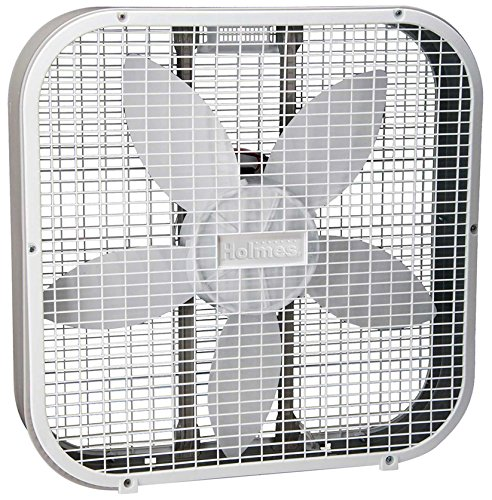 ": Holmes HBF2010AWM 20"" White 3 Speed Box Fan"