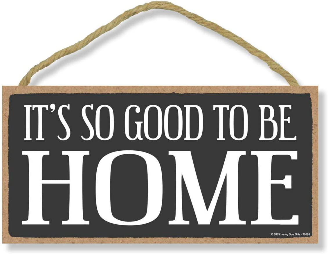 What I Love About My Home is Who I Share It with Honey Dew Gifts Home Decor Housewarming Gifts 5 x 10 inch Hanging Wood Sign