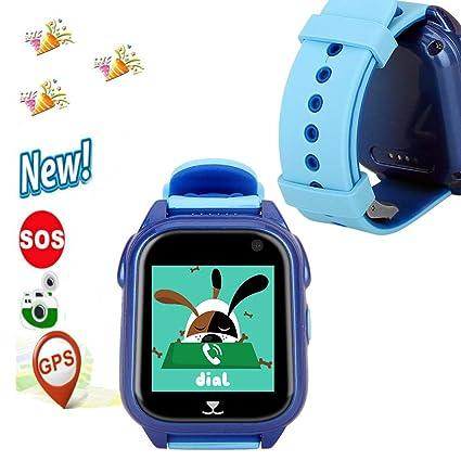 Amazon.com: GPS Watch,Hangang IP67 Waterproof Kid Smartwatch ...