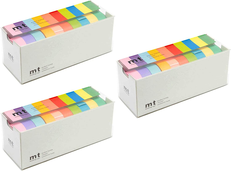 Set of 10 Bright Colors MT Washi Masking Tapes MT10P003