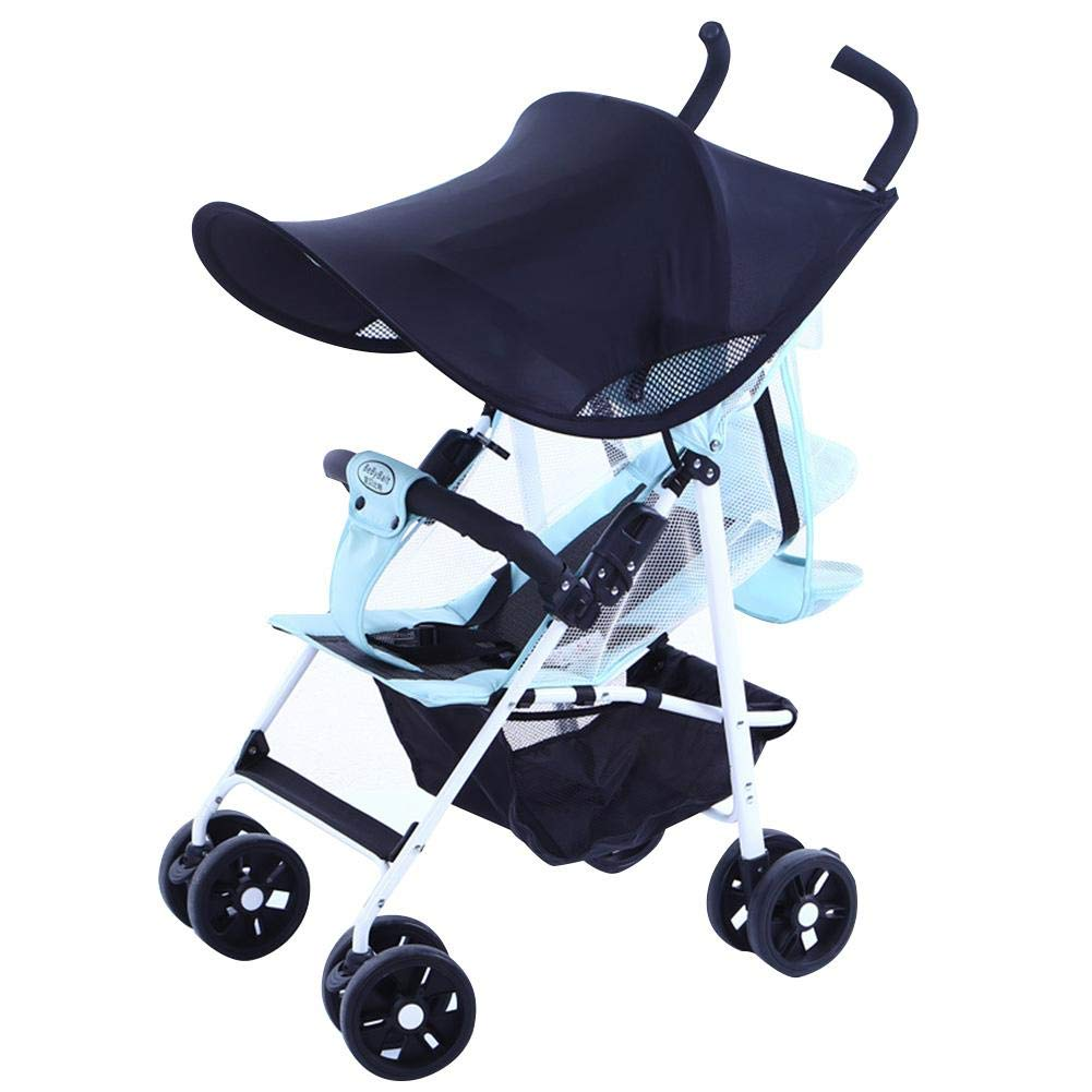 Big-time Stroller Awning, Baby Stroller Sunshade Cover, Breathable Universal Stroller Canopy Blocking 99 UV