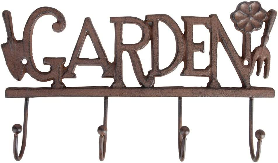 Esschert Design USA LH99 Four Hook Garden Hanger