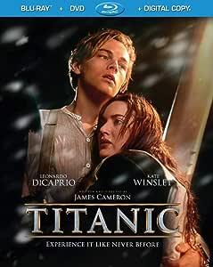 Titanic (4-Disc Combo Pack) [Blu-ray + DVD + Digital Copy] (Sous-titres français)