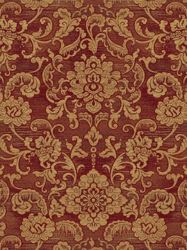 Central Oriental 1932RD81 Shadows Londonderry Red 7-Feet 10-Inch by 10-Feet 10-Inch Area Rug - Central Oriental Shadows