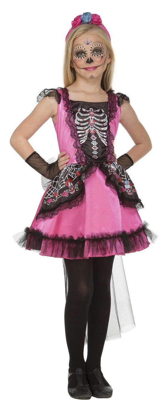 My Other Me Me-204002 Disfraz Damisela esqueleto para niña, 10-12 ...