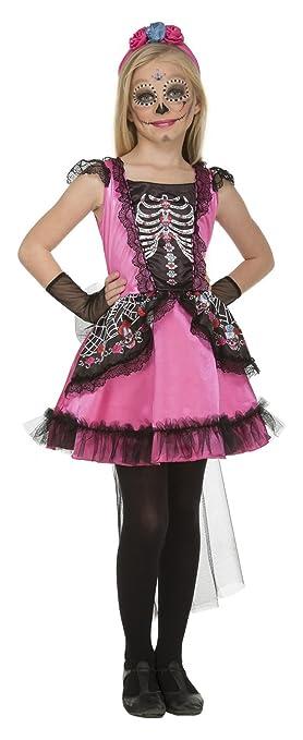 My Other Me Me-204001 Disfraz Damisela esqueleto para niña, 7-9 ...