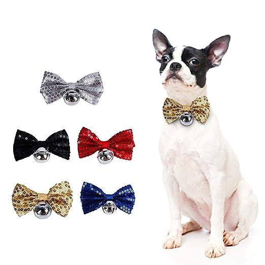 Festnight Pet Bow Tie Collares de Perro para Navidad Trajes de ...