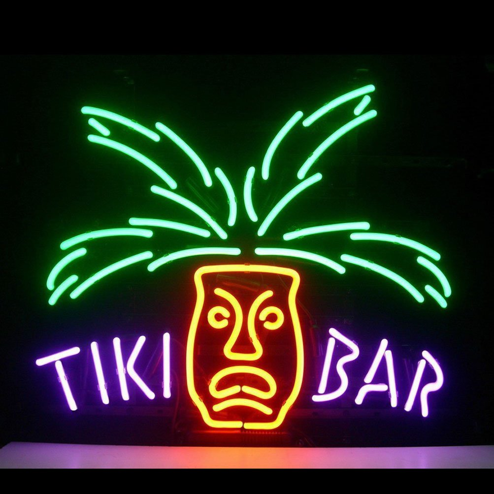 Hozer professional tiki bar design decorate neon light sign store hozer professional tiki bar design decorate neon light sign store display beer bar sign real neon signboard for restaurant convenience store bar billiards mozeypictures Image collections