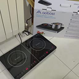 Aobosi placa de inducción, placa de doble inducción, placa ...