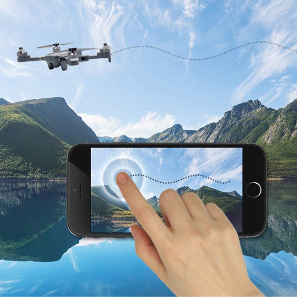 Yellsong-Drone , XT-1 Plus Foldable RC Drone HD Camera WiFi Pocket Drone Selfie Fold by Yellsong-Drone (Image #2)