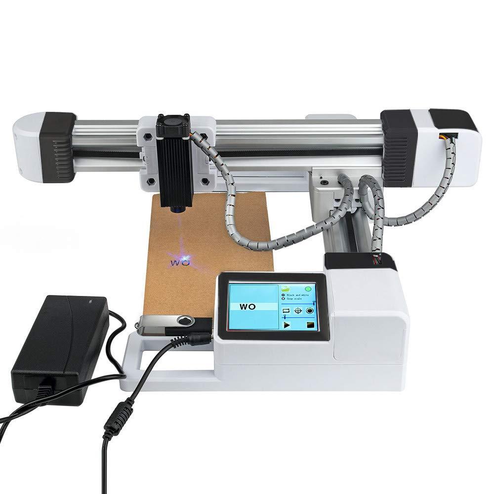 Machine de gravure laser USB taille de carver 155x175mm mini graveur laser de bureau papier dimprimante de gravure laser CNC pour bois cuir et plastique 7W caoutchouc bambou
