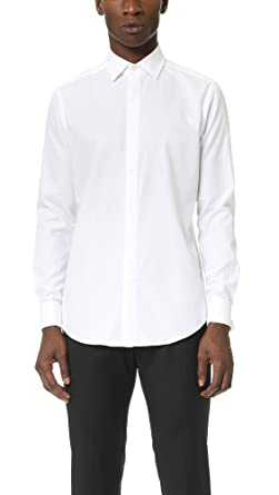 c65710b674e Amazon.com: Theory Men's Dover Tuxedo Shirt: Clothing